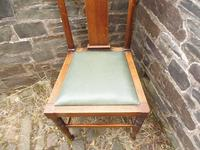 Richard Norman Shaw Set of Eight Chairs (3 of 9)