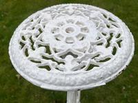 Victorian 19th Century Garden Cast Iron 6 Branch Plant Stand Coalbrookdale Style (23 of 27)