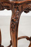 Pretty French Walnut Occasional Table (7 of 10)