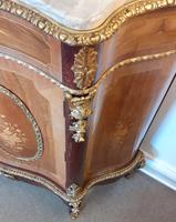 Louis XVI Style French Marble Top Cabinet (3 of 8)