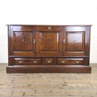 Antique Oak Mule Chest Cupboard (9 of 9)