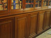 Large George III Style Mahogany 6 Door Cabinet Bookcase (3 of 17)