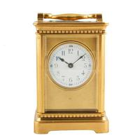 Edwardian French Brass Carriage Clock (3 of 8)