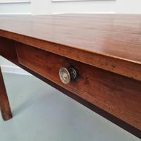 Beautiful Country Farmhouse Cherrywood Table C1850 (2 of 5)