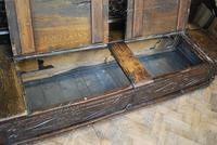 Georgian Oak Hall Bench (7 of 8)