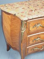 French Louis XV Style Marble Top Commode (8 of 13)