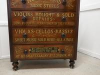 Large Victorian Mahogany Shop Display Music Cabinet (5 of 18)