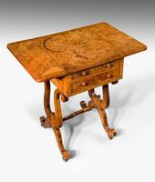 Regency Period Amboyna Work Table (8 of 8)