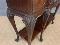 Carved Mahogany Display Cabinet by Warings (16 of 19)