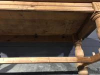 Large Refectory Bleached Oak Farmhouse Table (12 of 17)