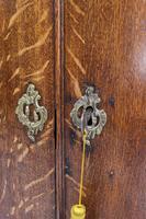 Georgian Oak Bow Front Corner Cupboard (6 of 13)