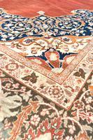 Antique Tabriz roomsize carpet 397x302cm (7 of 8)