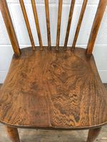 Pair of Antique Hoop Back Farmhouse Chairs (9 of 13)
