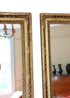 Pair of Gilt 19th Century Overmantle or Wall Mirrors (6 of 13)
