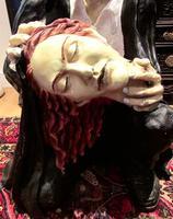 Huge Old Fairground Dracula Sculpture  Ghost Train Figure (3 of 9)