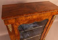 Victorian Pier Cabinet in Burr Walnut (4 of 8)