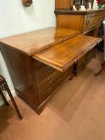 Solid Mahogany Chest of Drawers of compact size (3 of 5)