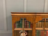 Shapland & Petter Burr Walnut Bookcase (5 of 23)