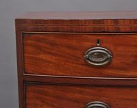 19th Century Georgian Bow Front Chest (2 of 9)