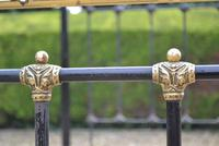 Antique King Size 5ft Half Tester Bedstead by R W Winfield. Bed Restored in your Colour (10 of 19)