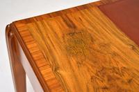 Art Deco Vintage Walnut Writing Table / Desk by McIntosh (14 of 16)
