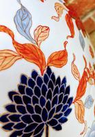 Large Late 19th Century Imari Guangxu Porcelain Fish Bowl (3 of 8)
