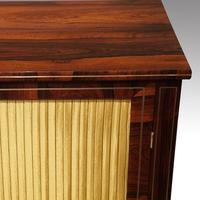 Regency Brass Inlaid Rosewood Side Cabinet (6 of 8)