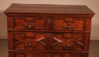 Jacobean Chest of Drawers in Oak 17th Century (2 of 11)