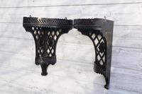 Aesthetic Movement, pierce-work corner shelves with galleries (a pair) c.1880 (18 of 35)