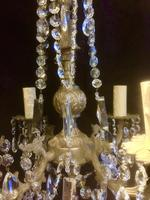 Four Light French Antique Chandelier (2 of 5)