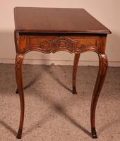 Small Louis XV Table In Oak -18 ° Century (5 of 10)