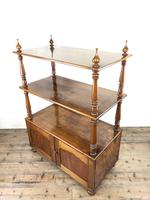 19th Century Mahogany Buffet with Cupboard Base (9 of 18)