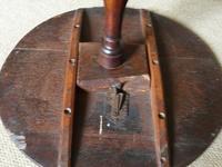 19th Century Oak wine table (4 of 6)