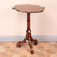 19th Century Marquetry Tripod Table (10 of 17)