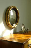 Victorian Gilt Convex Mirror (8 of 10)