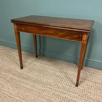 Country House Georgian Mahogany Antique Side / Tea Table (3 of 8)
