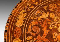 19th Century Dutch Marquetry Inlaid Tilt Table (6 of 7)