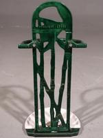 Small Late 19th Century Continental Enamel Stick Stand (3 of 5)