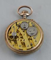 Ladies Swiss Enamel Pocket Watch (2 of 4)