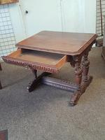 Antique Dolphin Table (3 of 7)