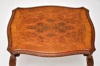Queen Anne Style Burr Walnut Nest of Tables (8 of 8)