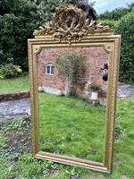 Large antique French gilt mirror (4 of 8)