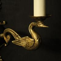 French Pair of Empire Antique Wall Lights (5 of 10)