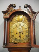 George III Inlaid Mahogany Grandfather Clock by G Brown, Edinburgh (7 of 12)