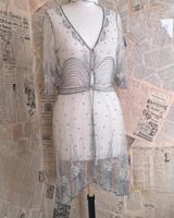 Vintage 1920's beadwork dress, Art Deco (3 of 20)