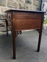 Antique Mahogany Writing Table (8 of 11)