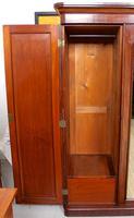 Wardrobe Triple Compactum Wardrobe Victorian Mahogany (10 of 12)