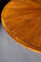 Circular Olive Wood and Ebony Dining Table (6 of 6)