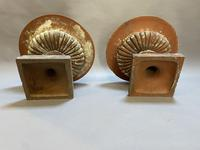 Pair of Terracotta Campana Garden Urns (10 of 13)