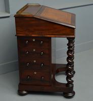 William IV Flame Mahogany Davenport Desk (8 of 18)